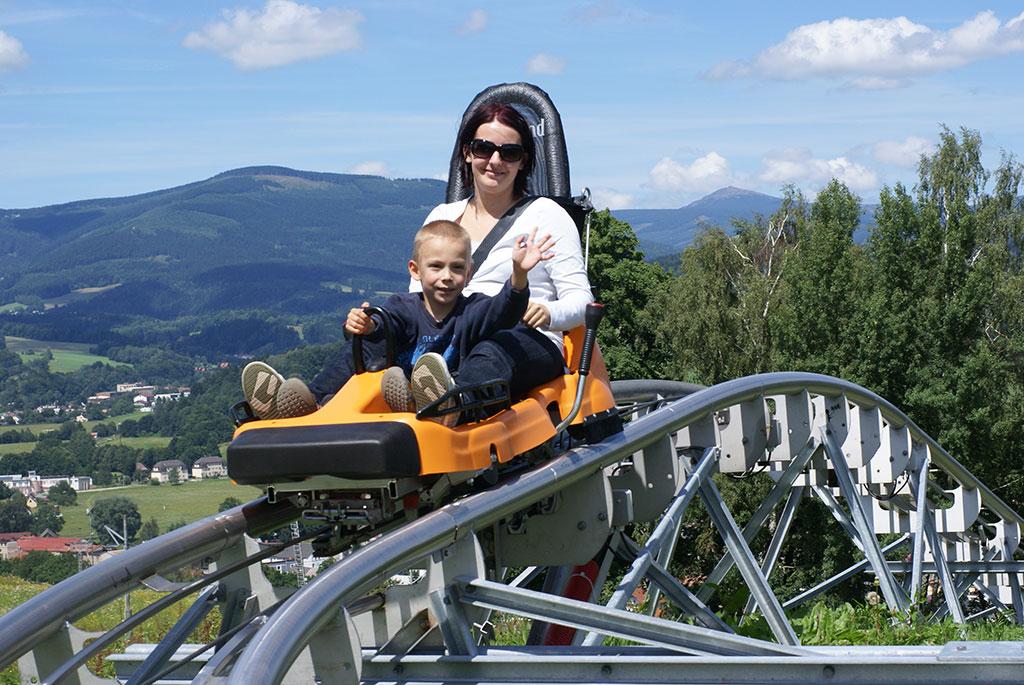 areál mladé buky bobsleigh track berta