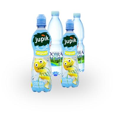 2x dětský nápoj, 2x voda